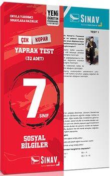 Sınav Yayınları7. Sınıf Sosyal Bilgiler Yaprak Test