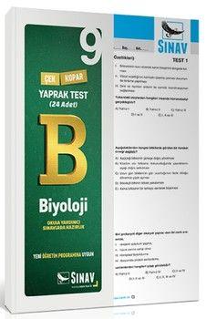 Sınav Yayınları 9. Sınıf Biyoloji Yaprak Test