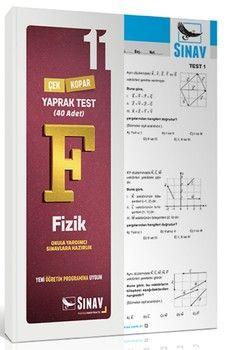 Sınav Yayınları 11. Sınıf Fizik Yaprak Test