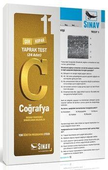 Sınav Yayınları 11. Sınıf Coğrafya Yaprak Test