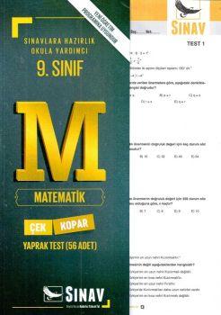 Sınav Yayınları 9. Sınıf Matematik Çek Kopar Yaprak Test