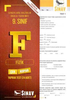Sınav Yayınları 9. Sınıf Fizik Çek Kopar Yaprak Test