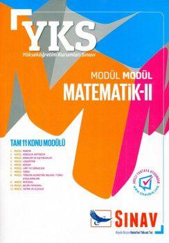 Sınav Yayınları YKS 2. Oturum Modül Modül Matematik 2 Konu Anlatımlı