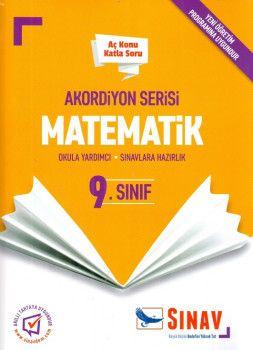 Sınav Yayınları 9. Sınıf Matematik Akordiyon Aç Konu Katla Soru