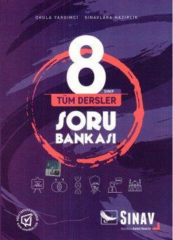 Sınav Yayınları 8. Sınıf Tüm Dersler Soru Bankası