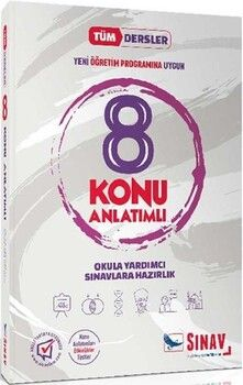 Sınav Yayınları 8. Sınıf Tüm Dersler Konu Anlatımlı Kampanyalı