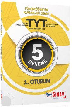 Sınav Yayınları YKS 1. Oturum TYT 5 Deneme