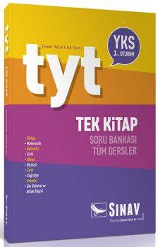 Sınav Yayınları YKS 1. Oturum TYT Tüm Dersler Tek Kitap Soru Bankası