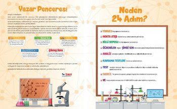 Sınav Yayınları YKS 1. ve 2. Oturum Kimya 24 Adımda Özel Konu Anlatımlı Soru Bankası