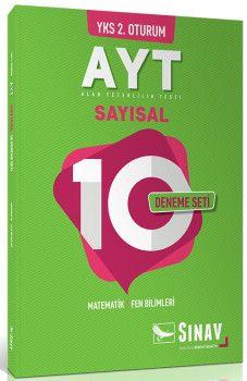 Sınav Yayınları YKS 2. Oturum AYT Sayısal 10 Deneme Seti