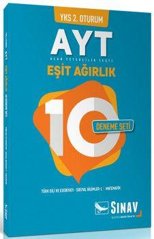 Sınav Yayınları YKS 2. Oturum AYT Eşit Ağırlık 10 Deneme Seti