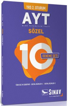 Sınav Yayınları YKS 2. Oturum AYT Sözel 10 Deneme Seti