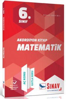 Sınav Yayınları 6. Sınıf Matematik Akordiyon KitapAç Konu Katla Soru?