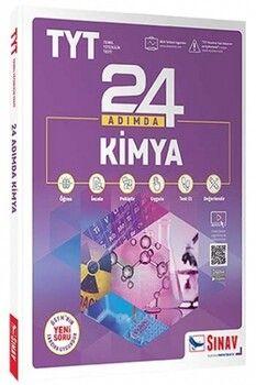Sınav Yayınları TYT Kimya 24 Adımda Konu Anlatımlı Soru Bankası