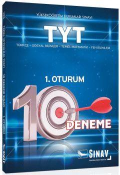 Sınav Yayınları YKS 1. Oturum TYT 10 Deneme