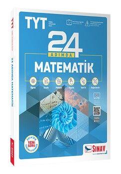 Sınav Yayınları TYT Matematik 24 Adımda Konu Anlatımlı Soru Bankası