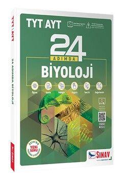 Sınav Yayınları TYT AYT Biyoloji 24 Adımda Konu Anlatımlı Soru Bankası