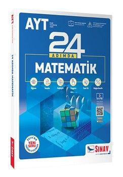 Sınav Yayınları AYT Matematik 24 Adımda Konu Anlatımlı Soru Bankası