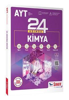 Sınav Yayınları AYT Kimya 24 Adımda Konu Anlatımlı Soru Bankası