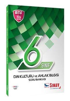 Sınav Yayınları 6. Sınıf Din Kültürü ve Ahlak Bilgisi Soru Bankası