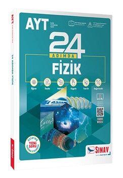 Sınav Yayınları AYT Fizik 24 Adımda Konu Anlatımlı Soru Bankası
