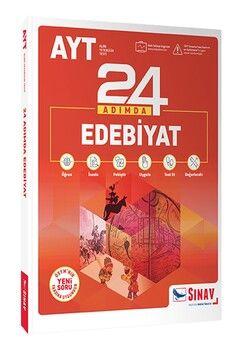Sınav Yayınları AYT Edebiyat 24 Adımda Konu Anlatımlı Soru Bankası