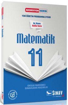Sınav Yayınları 11. Sınıf Matematik Akordiyon Kitap