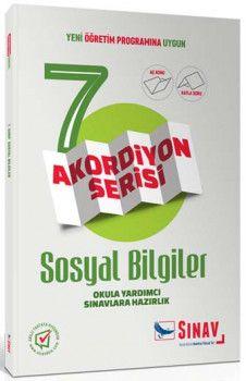 Sınav Yayınları 7. Sınıf Sosyal Bilgiler Akordiyon Kitap