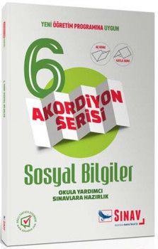 Sınav Yayınları 6. Sınıf Sosyal Bilgiler Akordiyon Kitap