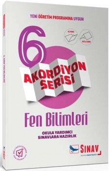 Sınav Yayınları 6. Sınıf Fen Bilimleri Akordiyon Kitap