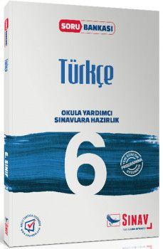 Sınav Yayınları 6. Sınıf Türkçe Soru Bankası