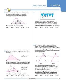 Sınav Yayınları TYT AYT Geometri 24 Adımda Konu Anlatımlı Soru Bankası