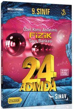 Sınav Yayınları 9. Sınıf Fizik 24 Adımda Özel Konu Anlatımlı Soru Bankası