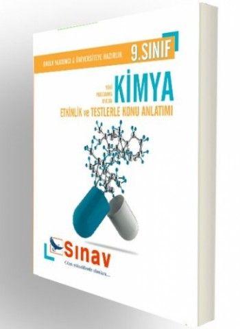 Sınav Yayınları 9. Sınıf Kimya Etkinlikler ve Testlerle Konu Anlatımı
