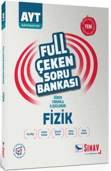Sınav Yayınları AYT Fizik Full Çeken Soru Bankası