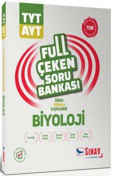 Sınav Yayınları TYT AYT Biyoloji Full Çeken Soru Bankası