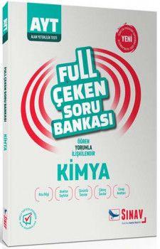 Sınav Yayınları AYT Kimya Full Çeken Soru Bankası