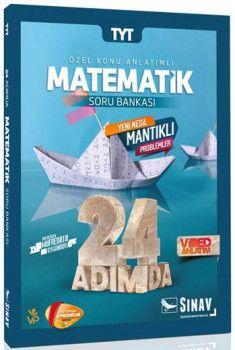 Sınav Yayınları TYT Matematik 24 Adımda Özel Konu Anlatımlı Soru Bankası