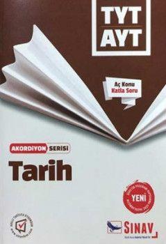 Sınav Yayınları TYT AYT Tarih Aç Konu Katla Soru Akordiyon Serisi