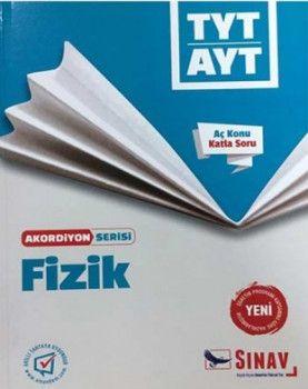 Sınav Yayınları TYT AYT Fizik Aç Konu Katla Soru Akordiyon Serisi