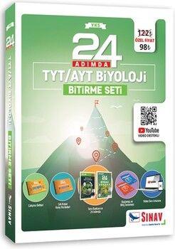 Sınav Yayınları 24 Adımda TYT AYT Biyoloji Bitirme Seti