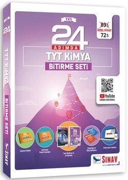Sınav Yayınları 24 Adımda TYT Kimya Bitirme Seti