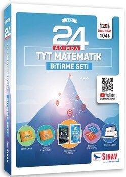 Sınav Yayınları 24 Adımda TYT Matematik Bitirme Seti