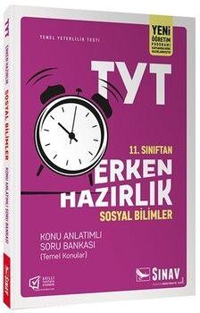 Sınav Yayınları 11. Sınıf TYT Erken Hazırlık Sosyal Bilimler Konu Anlatımlı Soru Bankası