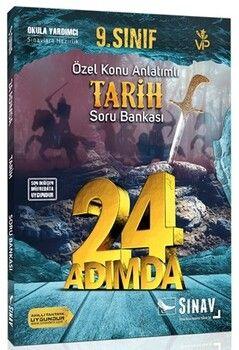 Sınav Yayınları 9. Sınıf Tarih 24 Adımda Özel Konu Anlatımlı Soru Bankası