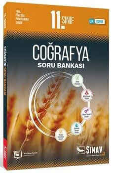 Sınav Yayınları 11. Sınıf Coğrafya Soru Bankası
