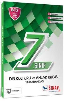 Sınav Yayınları 7. Sınıf Din Kültürü ve Ahlak Bilgisi Soru Bankası