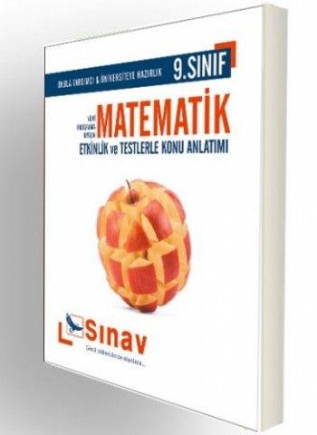 Sınav Yayınları 9. Sınıf Matematik Etkinlikler ve Testlerle Konu Anlatımı