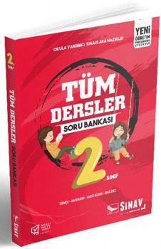 Sınav Yayınları 2. Sınıf Tüm Dersler Soru Bankası