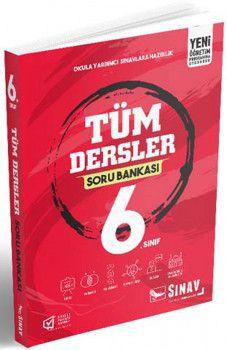 Sınav Yayınları 6. Sınıf Tüm Dersler Soru Bankası
